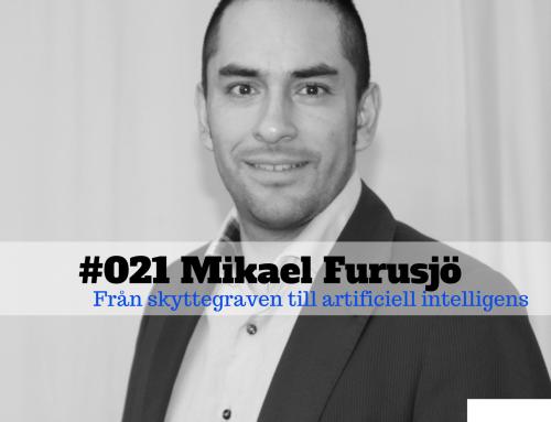 Mikael Furusjö – Från skyttegraven till artificiell intelligens – The FLAWD podcast (#021)