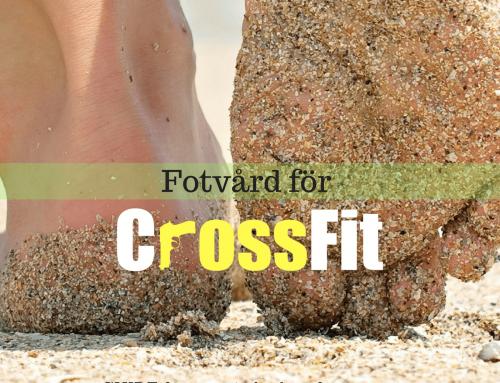 Fotvård för CrossFit