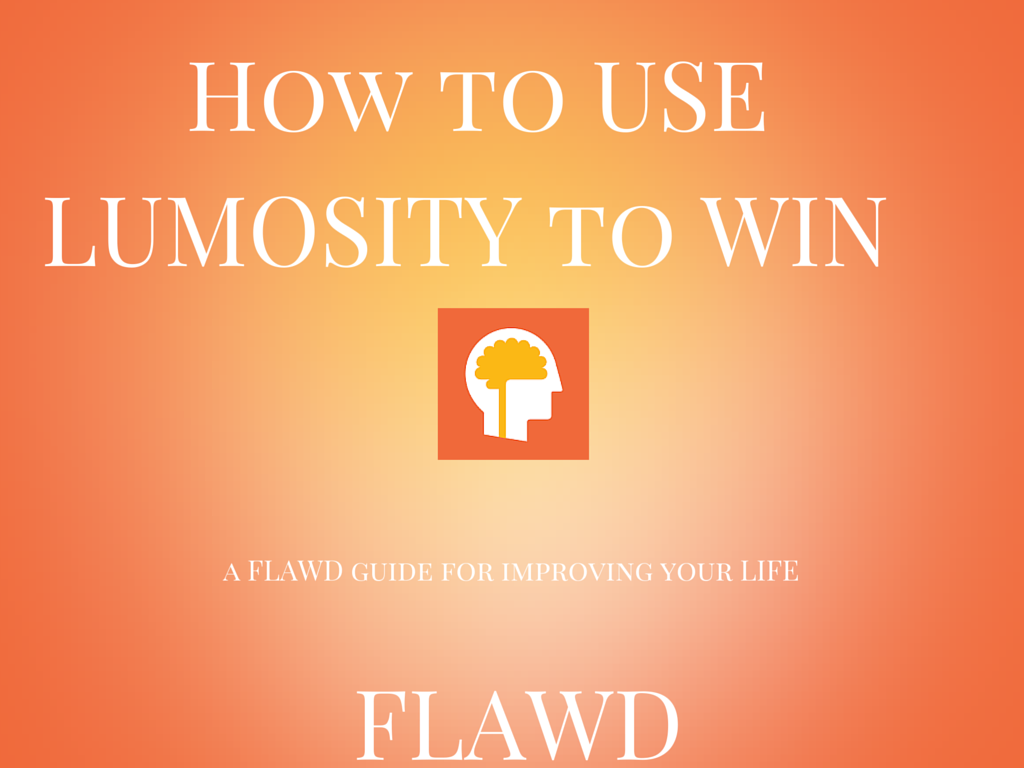 How to use Lumosity to Win